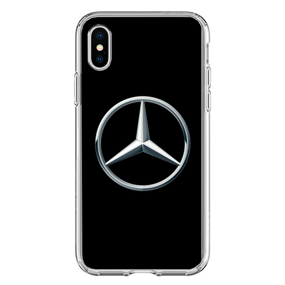 Husa iPhone X Mercedes Logo