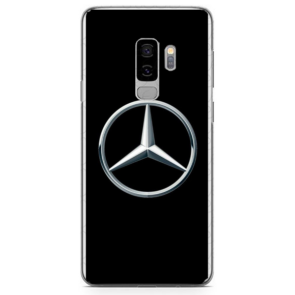 Husa Samsung Galaxy S9 Plus Mercedes Logo - inKing.ro
