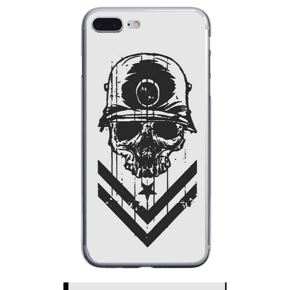 Husa iPhone 7 Plus Military Skull