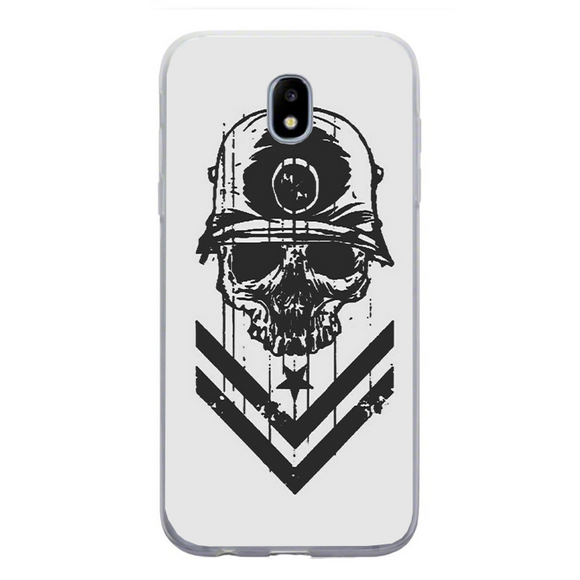 Husa Samsung Galaxy J3 2017 Military Skull - inKing.ro