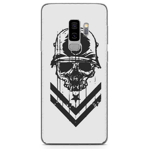 Husa Samsung Galaxy S9 Plus Military Skull - inKing.ro