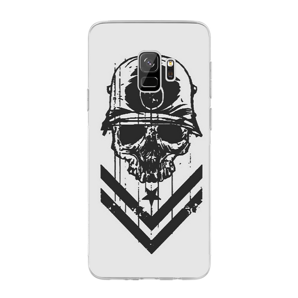 Husa Samsung Galaxy S9 Military Skull - inKing.ro