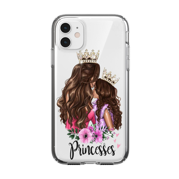 Husa iPhone transparenta Princess