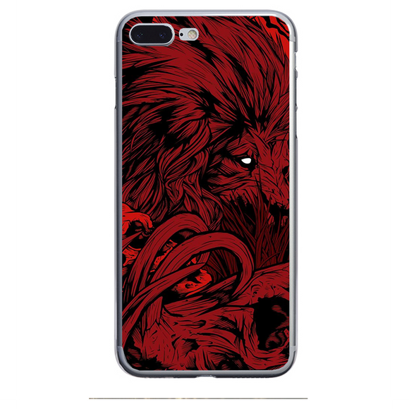 Husa iPhone 7 Plus Red Lion