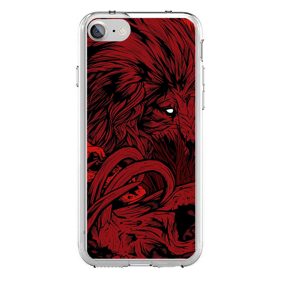 Husa iPhone 7 Red Lion