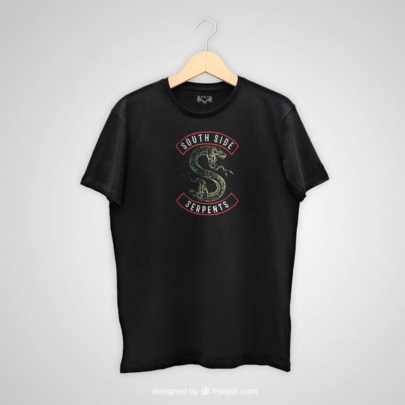 Tricou negru Riverdale South Side