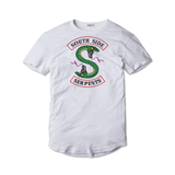 Tricou alb Riverdale South Serpents #2