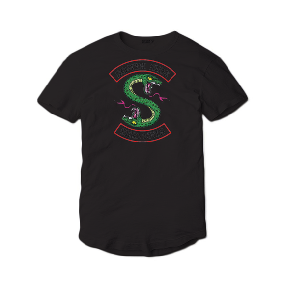 Tricou Negru Riverdale South Serpents #2