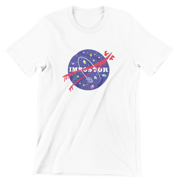 Tricou alb Among Us Space