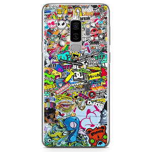 Husa Samsung Galaxy S9 Plus Stickers - inKing.ro