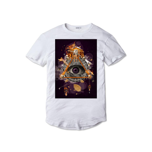 Tricou alb The Eye