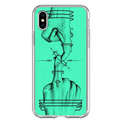 Husa iPhone XS The Touch - inKing.ro