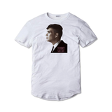 Tricou alb Peaky Blinders Tommy Shelby