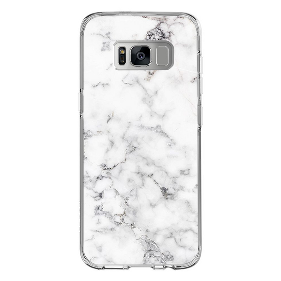 Husa Samsung Galaxy S8 Plus White Marble - inKing.ro