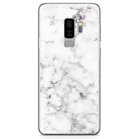 Husa Samsung Galaxy S9 Plus White Marble - inKing.ro