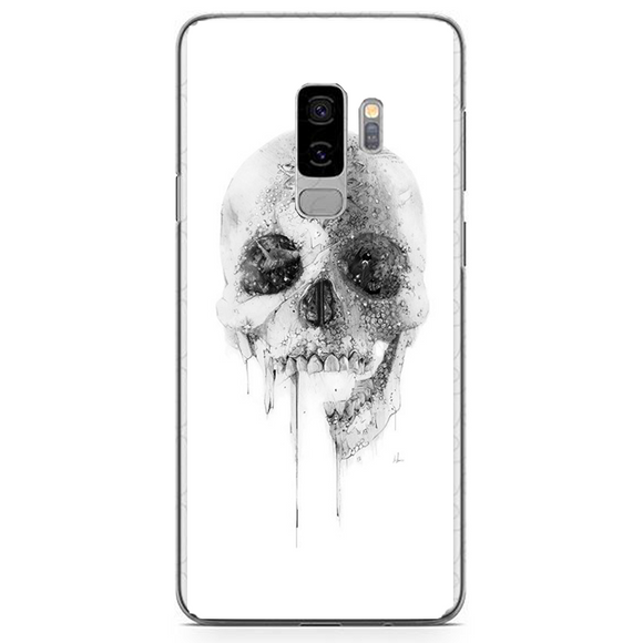 Husa Samsung Galaxy S9 Plus White Skull - inKing.ro