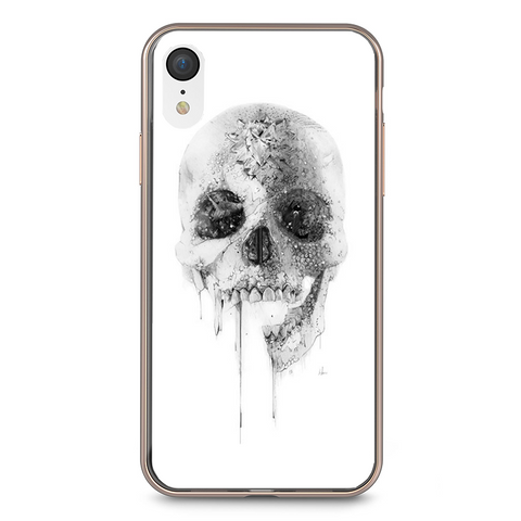 Husa iPhone XR White Skull