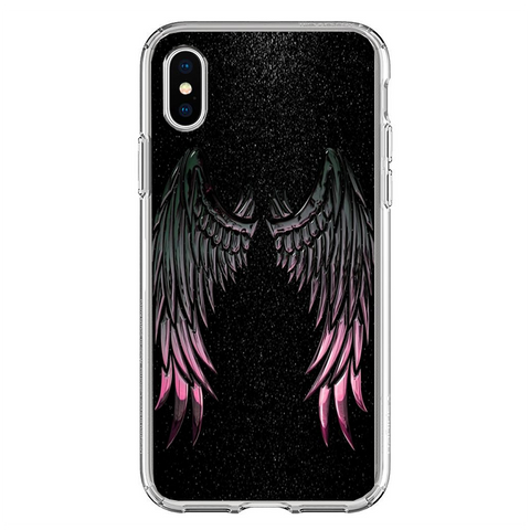 Husa iPhone XS Wings Galaxy - inKing.ro