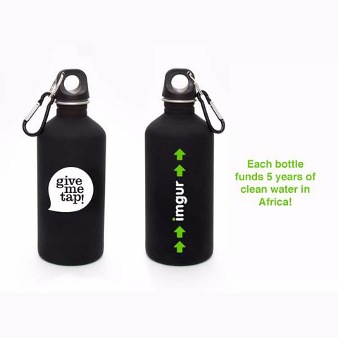 GiveMeTap Water Bottle