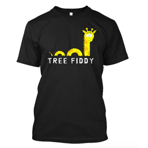 Giraffe Ness Monster T-Shirt
