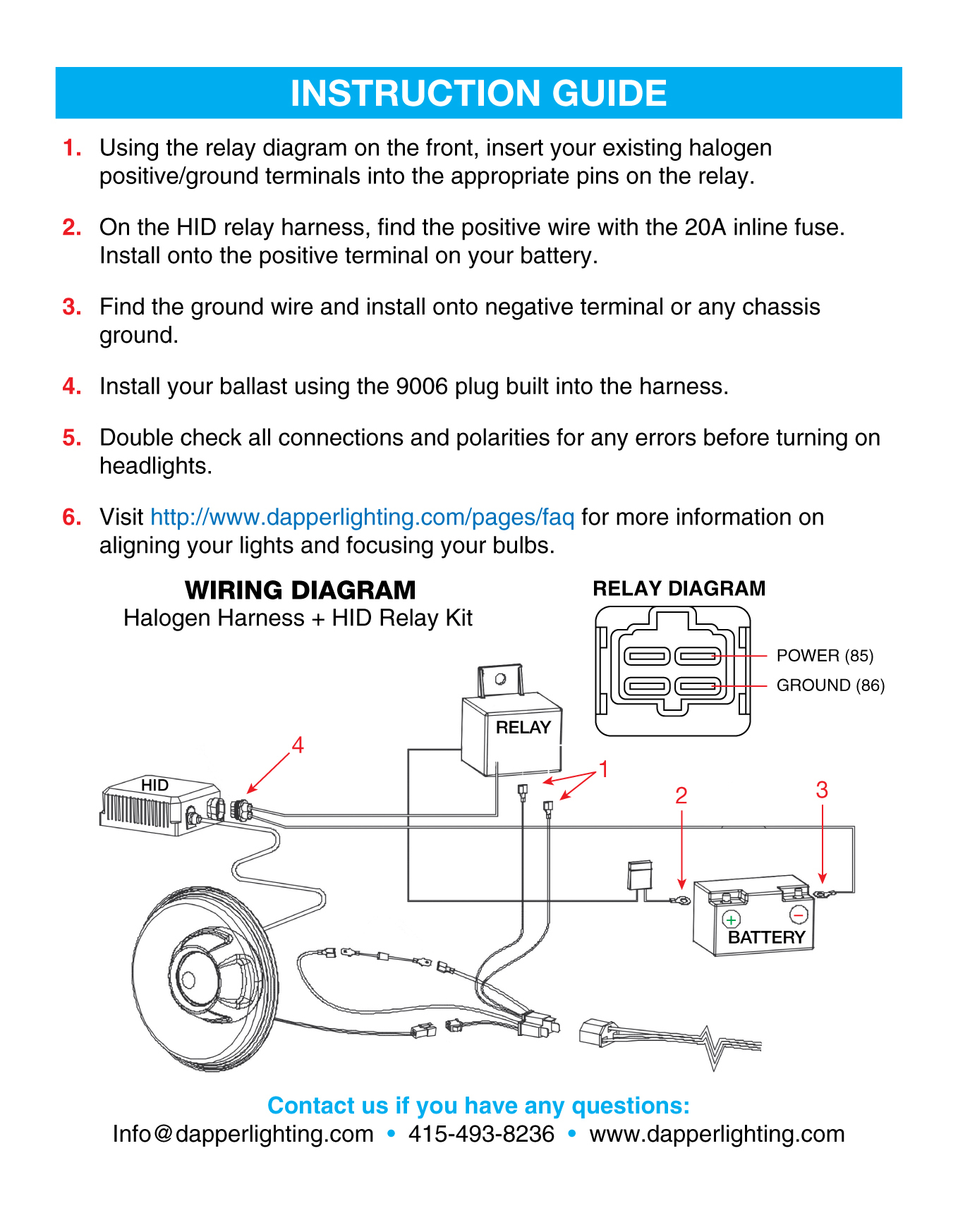 7x6 Hid Diagram 7x6 Get Free Image About Wiring Diagram
