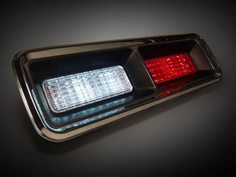 1967-1968 Chevy Camaro Standard Simple Sequential LED Tail Lights w/LED Reverse
