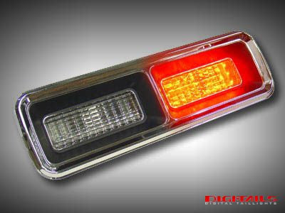 1967-1968 Chevy Camaro Sequential LED Tail Lights