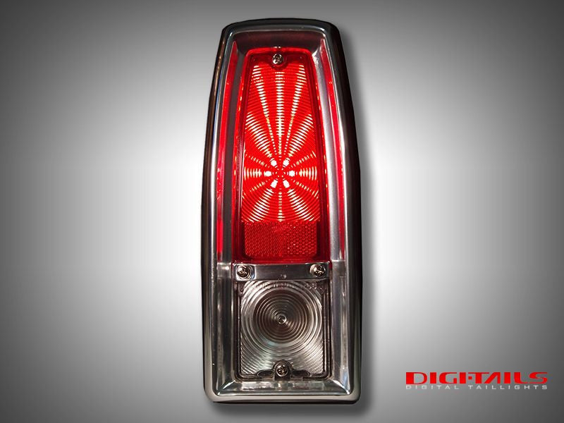 1966-1967 Chevy Nova Sequential LED Tail Lights