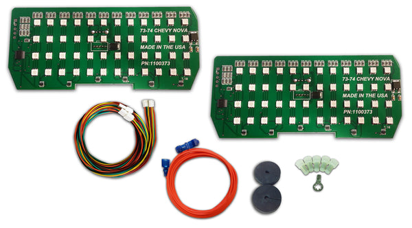 1973 1974 Chevy Nova Simple Sequential Led Tail Light Kit