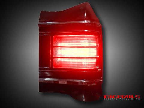 1967 Chevy Chevelle Simple Sequential LED Tail Lights