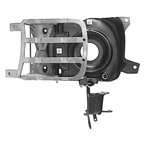 HEADLAMP HOUSING ASSEMBLY; COMPLETELY ASSEMBLED UNIT; LH; 69 CAMARO RS GMK4020063693LS