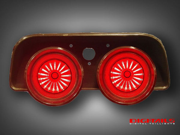 1968 Dodge Charger Sequential Led Tail Lights Dapper