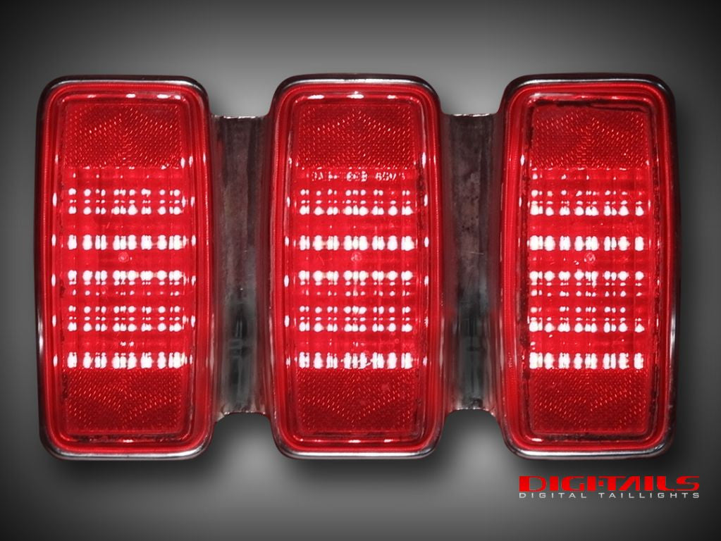1969 Ford Mustang Simple Sequential LED Tail Lights