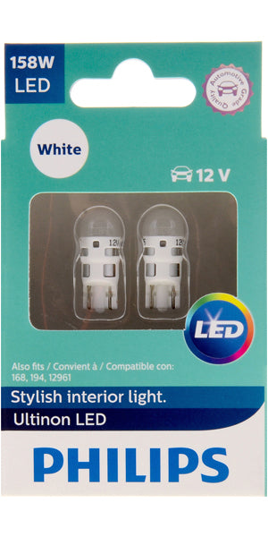 Philips Ultinon LED Bulbs, 158