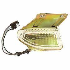PARK LAMP ASSEMBLY; RH; 69 MUSTANG; EXCEPT SHELBY GMK302207169RS