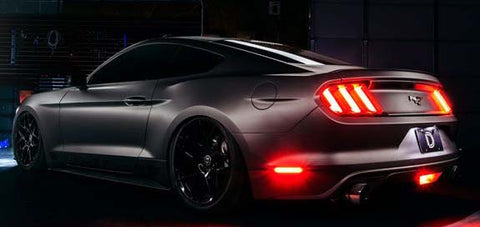 2015 - 2018 Ford Mustang LED Sidemarkers (pair)