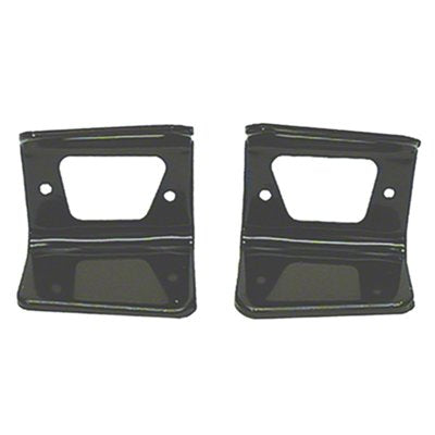 PARK LAMP HOUSING BRACKETS; LH/RH PAIR; 67 CAMARO RS GMK4020071674P