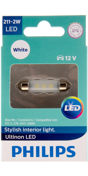 Philips Ultinon LED Bulbs, 211-2