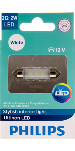 Philips Ultinon LED Bulbs, 212-2
