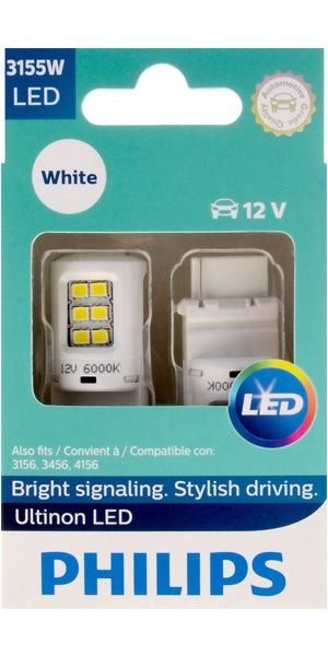 Philips Ultinon LED Bulbs, 3155