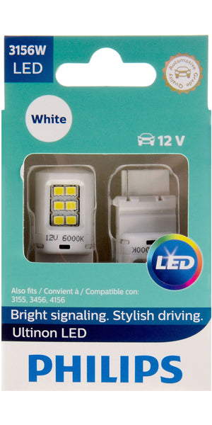 Philips Ultinon LED Bulbs, 3156