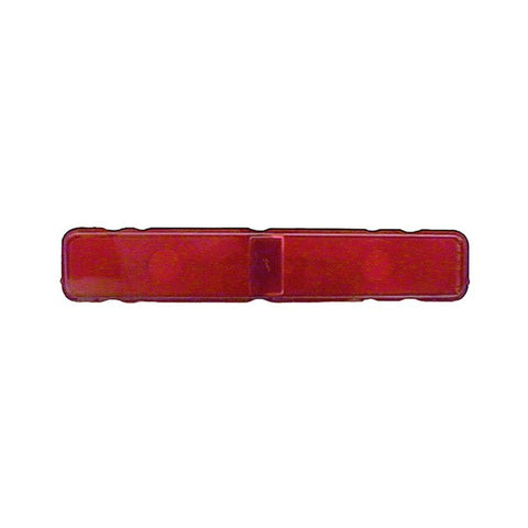 TAIL LAMP LENS; RED; LH/RH; USE 2 PER CAR; 67 CAMARO; RS MODELS ONLY GMK4020845672
