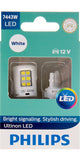 Philips Ultinon LED Bulbs, 7443