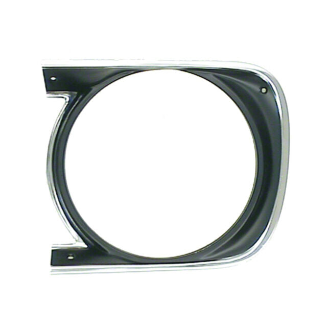 HEADLAMP BEZEL; LH; 68 CAMARO; EXCEPT RS GMK402006068L