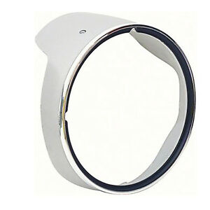 HEADLAMP BEZEL; LH; WITH CHROME TRIM; 69 CAMARO; EXCEPT RS GMK4020060692L