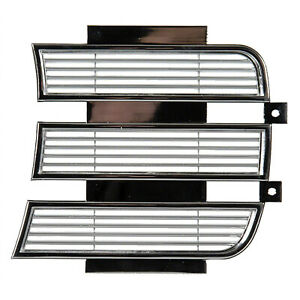 INNER HEADLAMP DOOR; LH 69 CAMARO RS [CHROME] GMK4020060693L