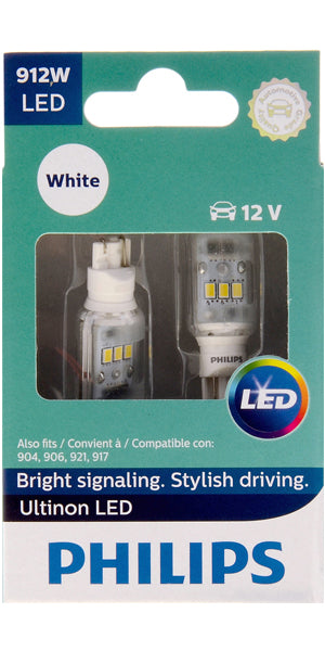 Philips Ultinon LED Bulbs, 912