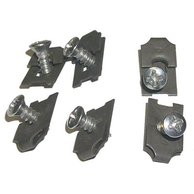 HEADLAMP BEZEL HARDWARE KIT; 12 PIECES; 69 CAMARO; EXCEPT RS MODEL GMK402006069S