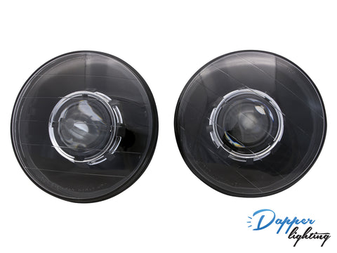 "Dapper Lighting 7"" Black Classic V2"