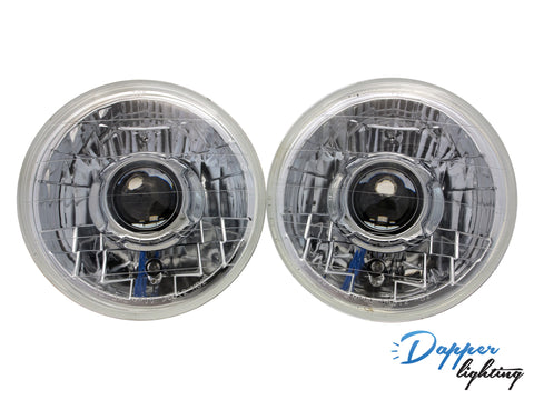 "Dapper Lighting 7"" Chrome Classic V1"